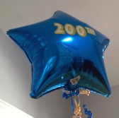 "At our JASNA NS meeting yesterday: one ""200th"" balloon, plus four that said ""50th Anniversary."" Thanks, Anne and Carole."