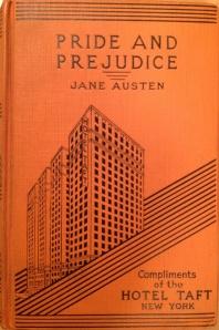 Pride and Prejudice, Hotel Taft edition