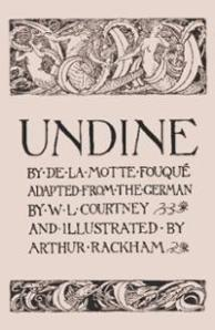 Title page for Undine