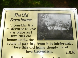 The Old Farmhouse plaque