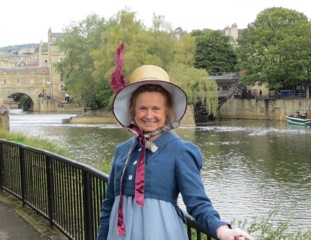 Anita and the Pulteney Bridge
