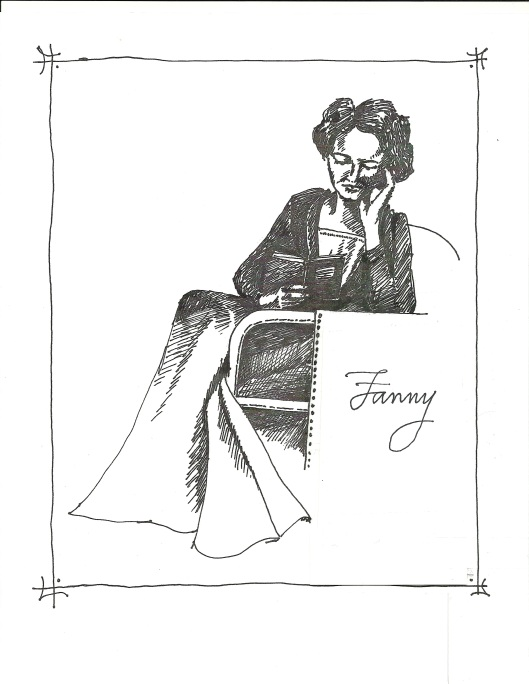 Fanny Price reading