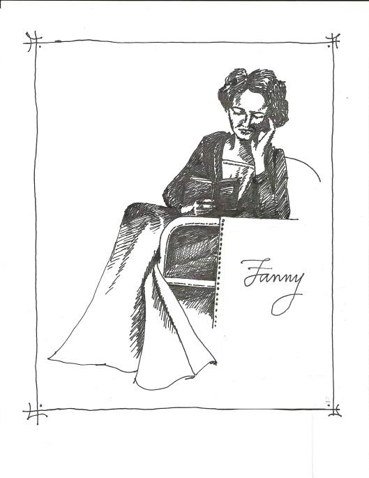 Fanny Price reading