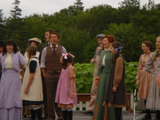 Anne and Gilbert at Green Gables
