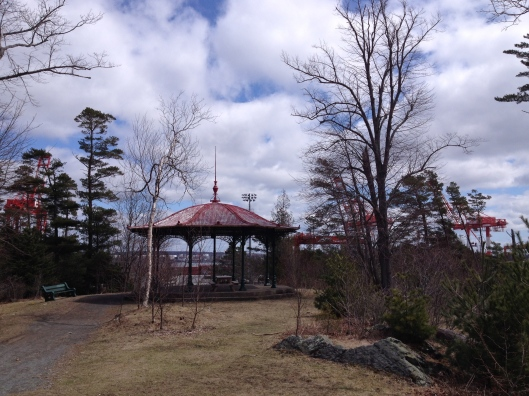 One of two pavilions in Point Pleasant Park