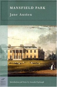 Mansfield Park Barnes and Noble cover