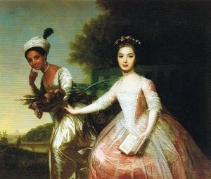 Elizabeth Murray and Dido Belle