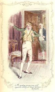 Mr. Yates, illustration by C.E. Brock
