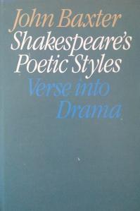 Shakespeare's Poetic Styles