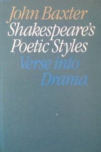 Shakespeare's Poetic Styles