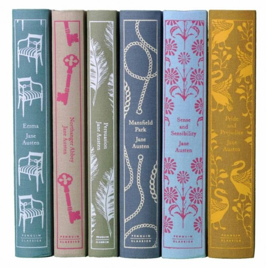 Penguin Jane Austen novels