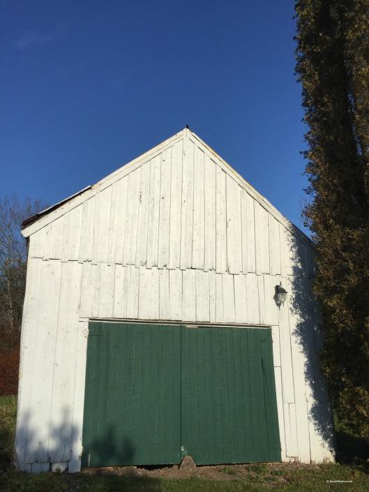 Elizabeth Bishop House, barn doors