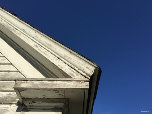 Elizabeth Bishop House, blue sky