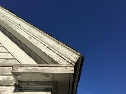 Elizabeth Bishop House, blue sky