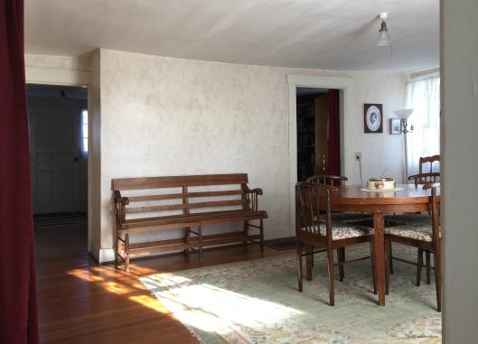 Elizabeth Bishop House, dining room