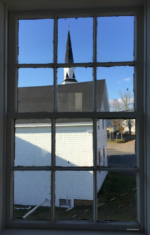 Elizabeth Bishop House, view of the church steeple