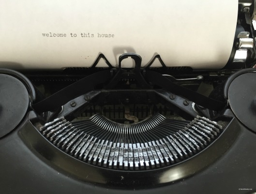 Elizabeth Bishop House, typewriter