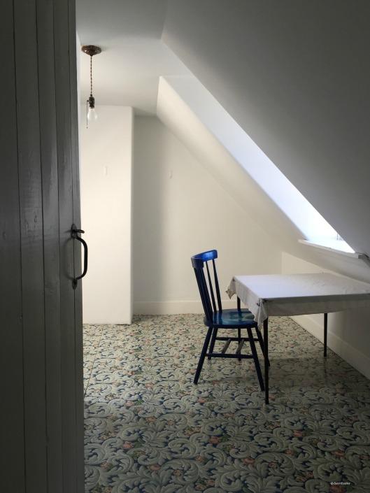 Elizabeth Bishop House, writing table