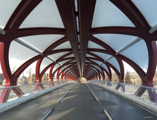Peace Bridge, Calgary, Alberta
