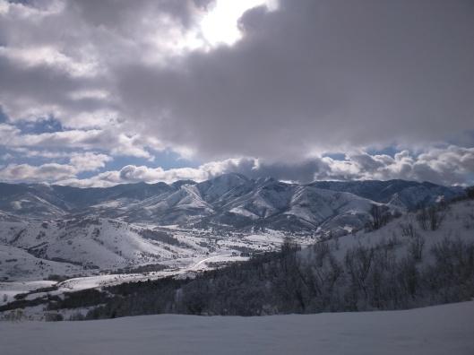 Utah in the snow