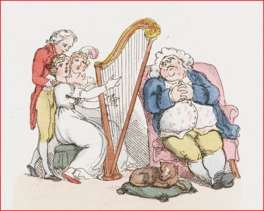 Sweet lullaby T Rowlandson 1803