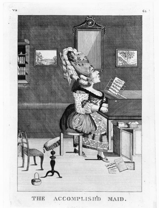 The Accomplish'd Maid M. Darly 1778