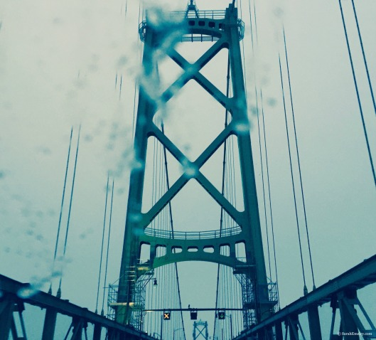 Blurry bridge
