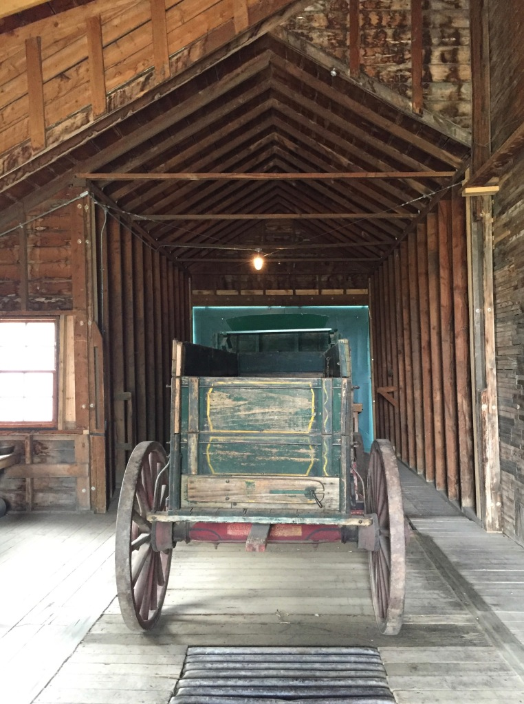Inside the grain elevator museum