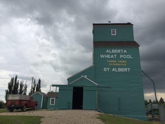 Grain elevator museum, St. Albert, Alberta
