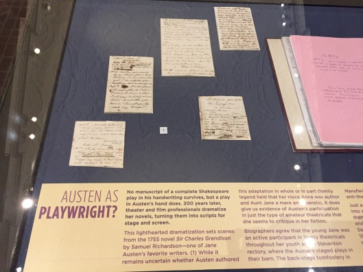 "The manuscript of ""Sir Charles Grandison"""