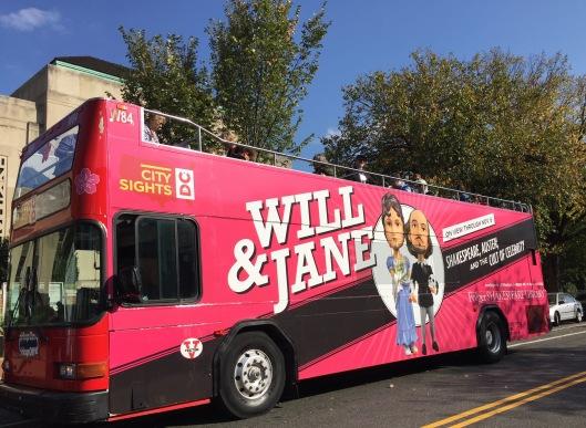 """Will & Jane"" shuttle bus"