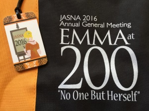 Emma at 200 AGM tote bag