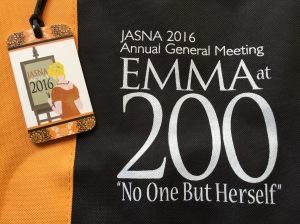 Emma at 200 AGM tote bag