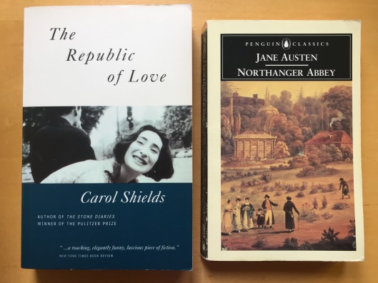 The Republic of Love and Northanger Abbey