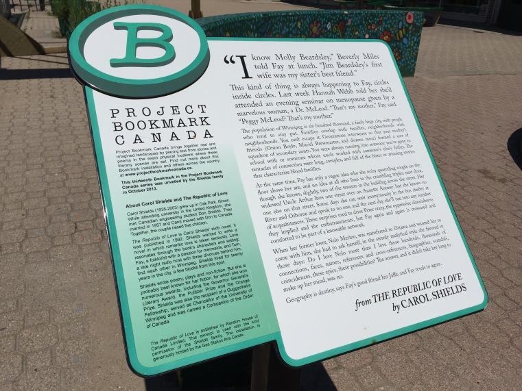 The Republic of Love Bookmark