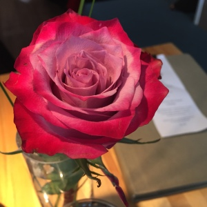 Rose at Leonhards Cafe
