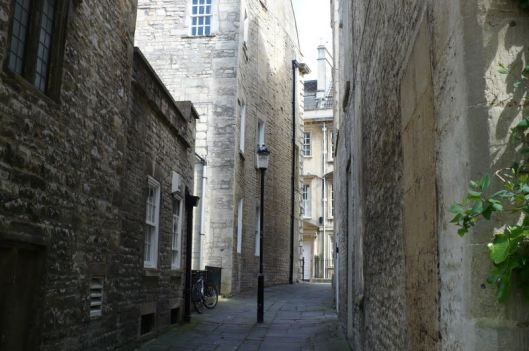 Kathleen's photo of a street in Bath.