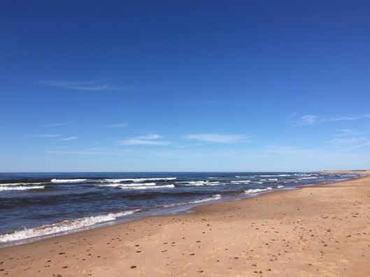 The beach at Prince Edward Island National Park, Greenwich