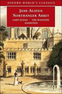 Lady Susan The Watsons Sanditon