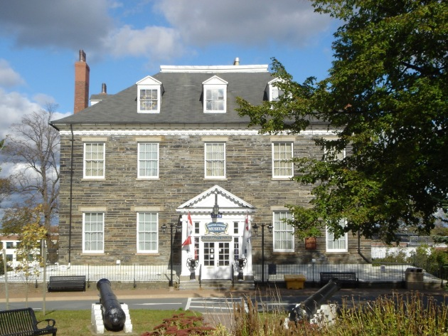 H: Admiralty House (1819), now the Naval Museum of Halifax, 2729 Gottingen Street