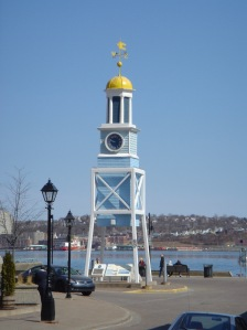 Dockyard Clock, Halifax, Nova Scotia