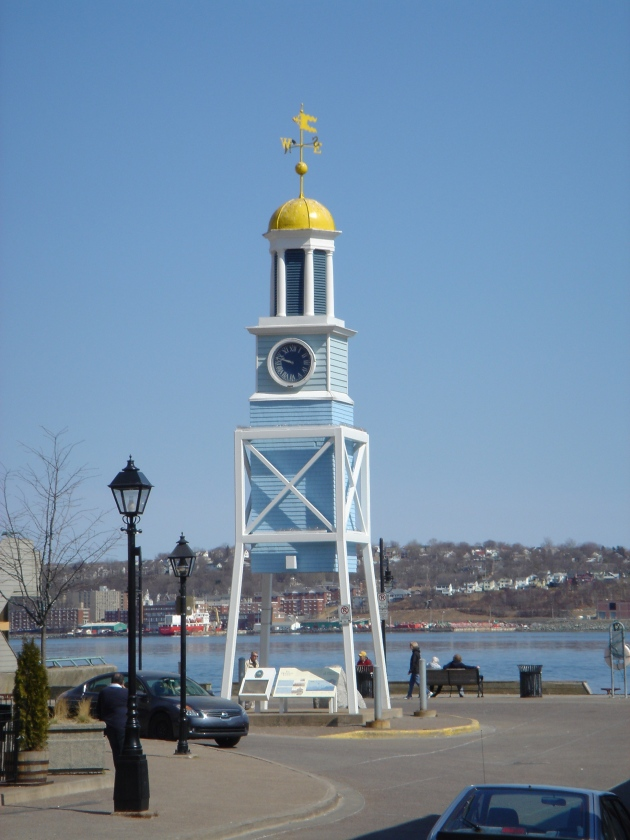 D: Naval Yard Clock (1772), Halifax Ferry Terminal