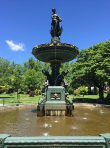 Halifax Public Gardens fountain