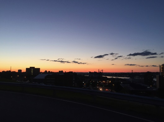 Sunset in Halifax, from the Citadel