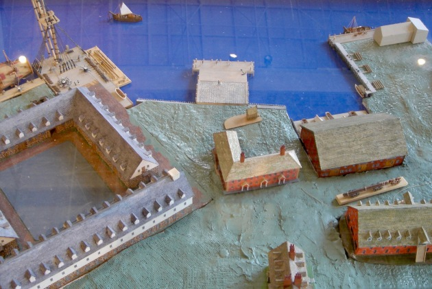 Model of the Naval Yard in 1813