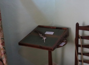 William Cowper's desk