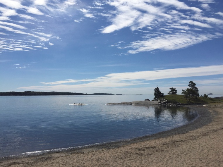 Black Rock Beach, Point Pleasant Park, Halifax, Nova Scotia