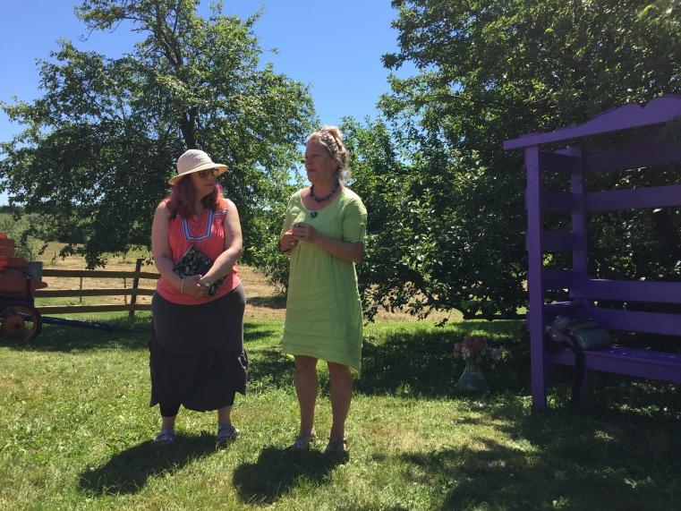 Melanie Fishbane and Sheree Fitch