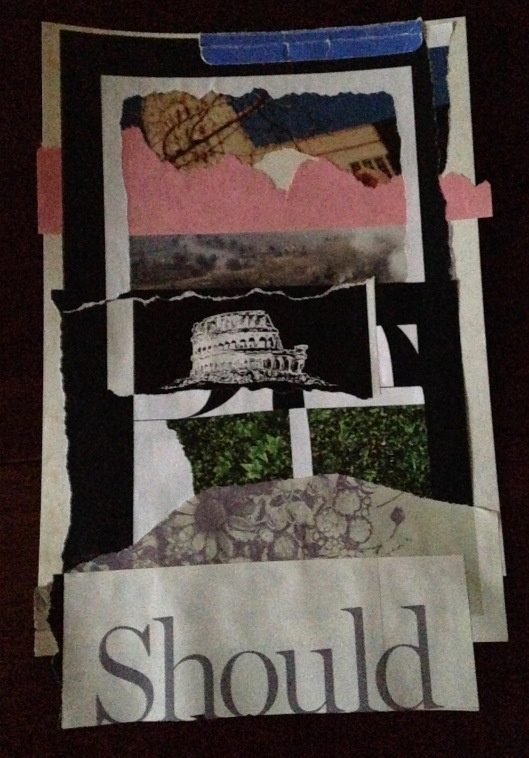 Maggie Arnold, collage, 2016