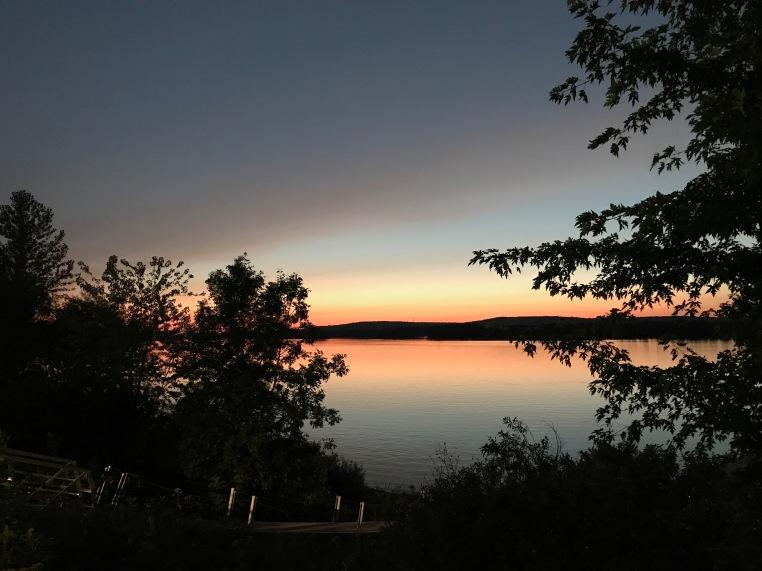 Sunset on the St. John River